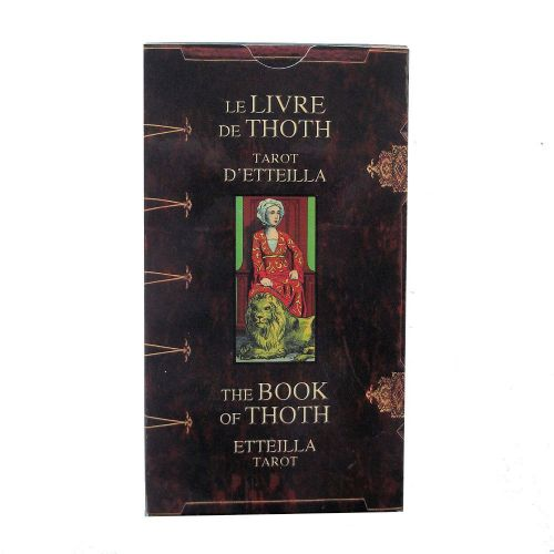 Etteilla Tarot Cards, The Book of Thoth
